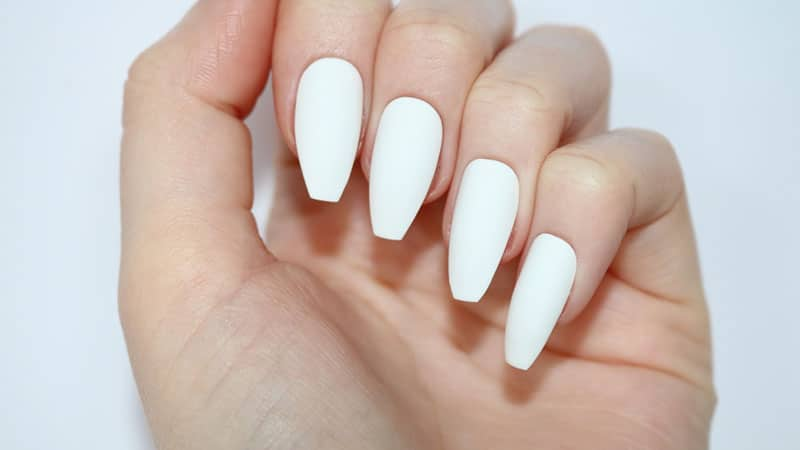 Are You Looking To Try Out A New Nail Shape Sick Of Square And Over Oval Weve Got The Perfect For Trendy Coffin