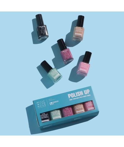 Polished Man Nail Lacquer Collection (5 x 9ml)